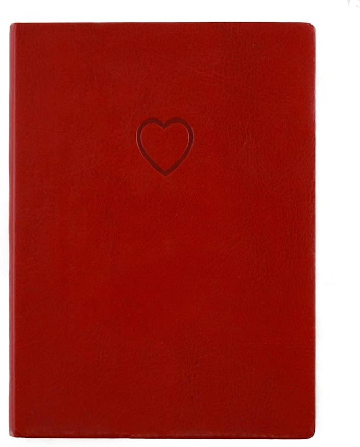 Eccolo red heart journal, gifts for her