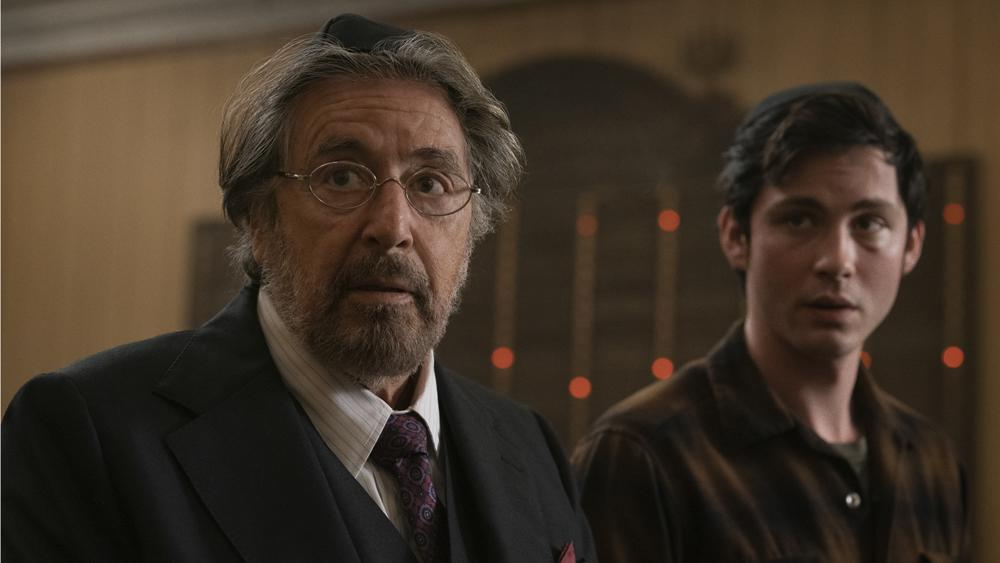 Al Pacino and Logan Lerman in Hunters (Credit: Amazon)