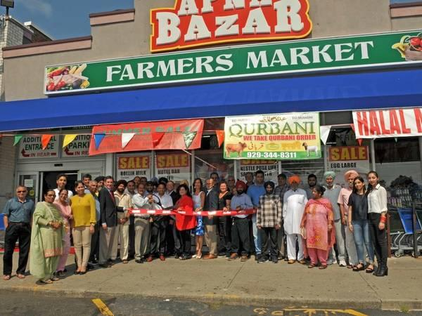 Indian Grocery Store Holds Grand Opening In New Hyde Park