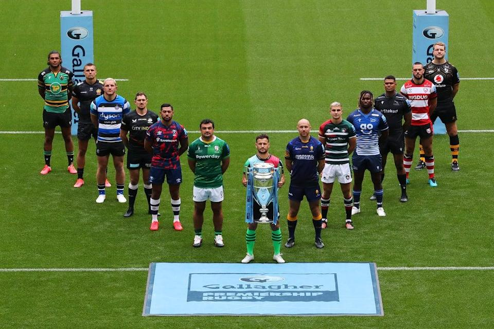 The Gallagher Premiership will have 13 teams competing this season  (Getty)