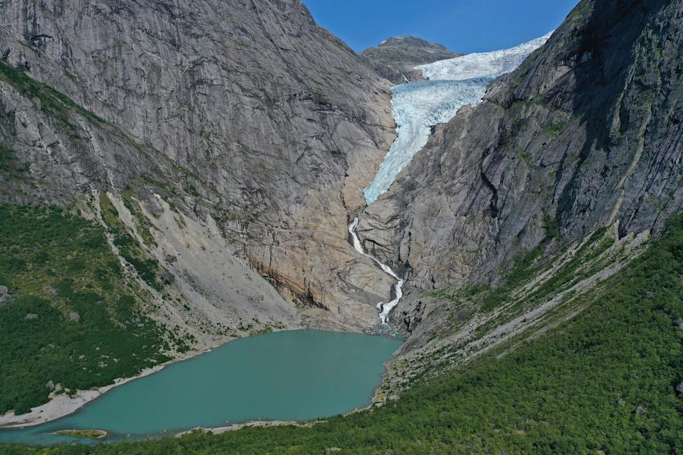 <p>The world's glaciers are retreating at an accelerated rate, the study says</p> (Getty Images)