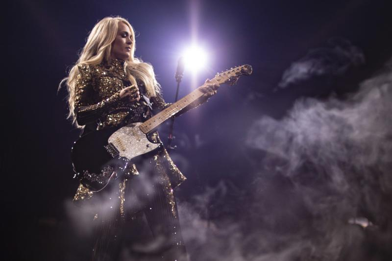 A look behind the scenes at Carrie Underwood's Cry Pretty Tour 360