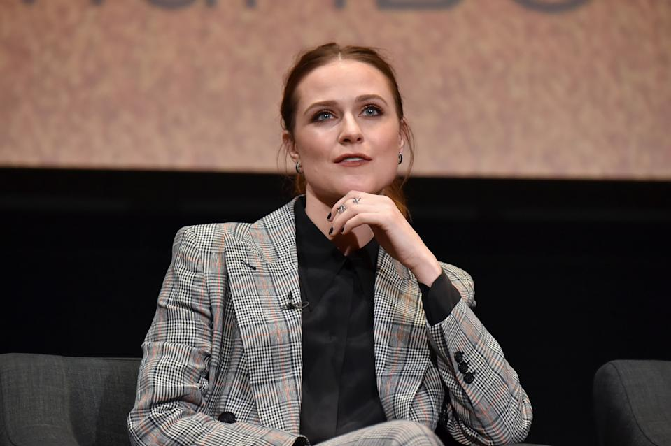 Evan Rachel Wood im März 2020 in Hollywood. (Bild: Jeff Kravitz/FilmMagic for HBO)