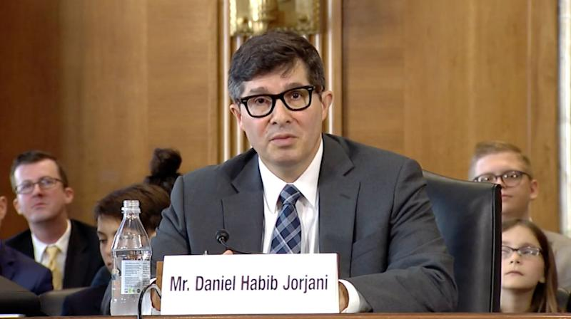 Daniel Jorjani, a Trump appointee, became the the solicitor of the Interior Department in late 2019. (Photo: Senate EPW)