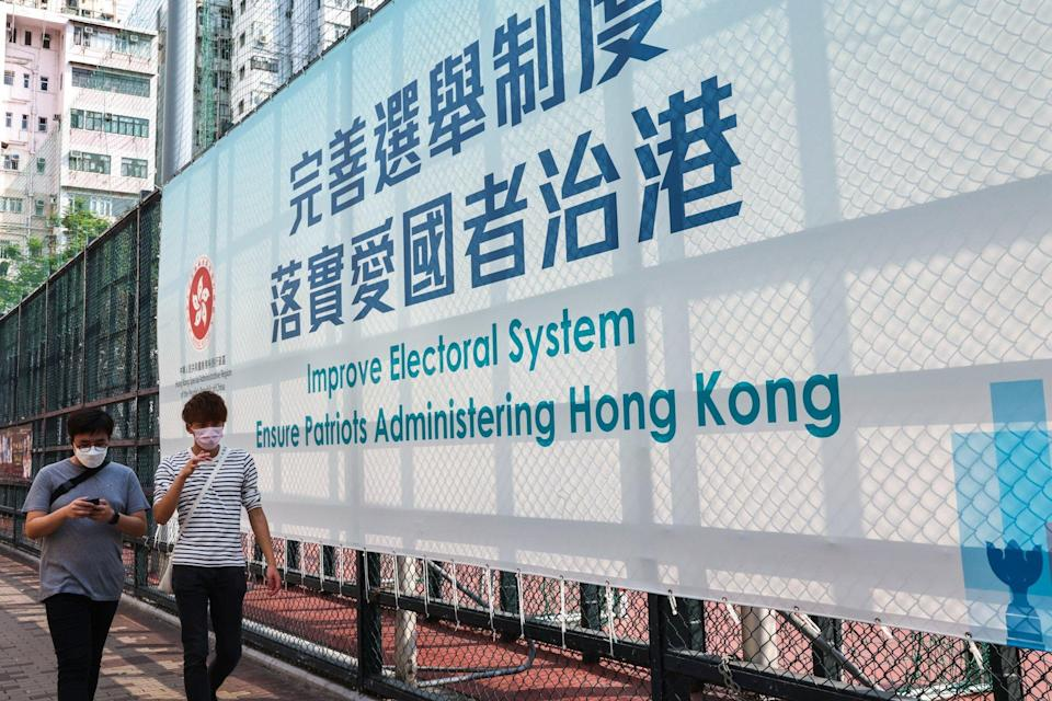 The 2020 report did not cover Beijing's recent drastic overhaul of Hong Kong's electoral system. Photo: K. Y. Cheng