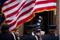 <p>Nearly 3,000 men and women lost their lives during the tragic 9/11 attacks — and many of them were fathers. The following Father's Day was a more somber occasion with newspapers, magazines and TV shows honoring the lives lost. </p>