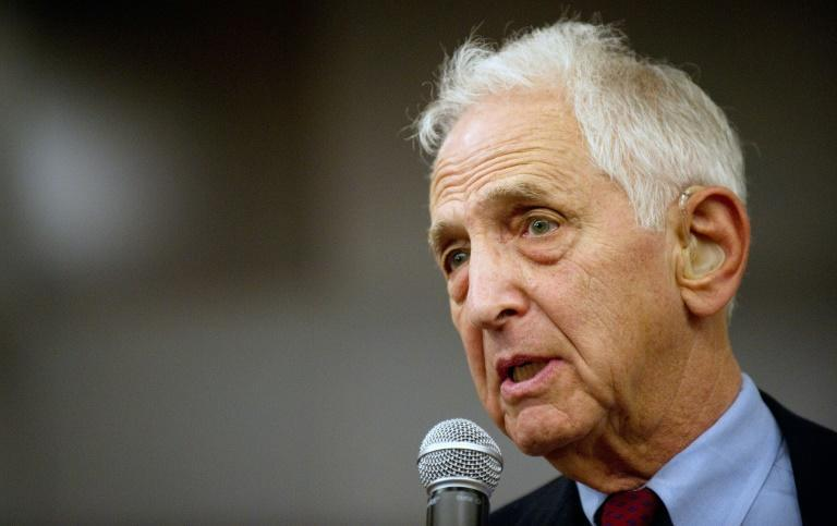 Daniel Ellsberg - seen here in 2010 - is a former US military analyst best known for his leak of the so-called Pentagon Papers in 1971