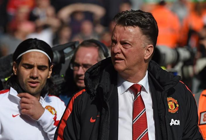 Former Manchester United manager Louis Van Gaal.