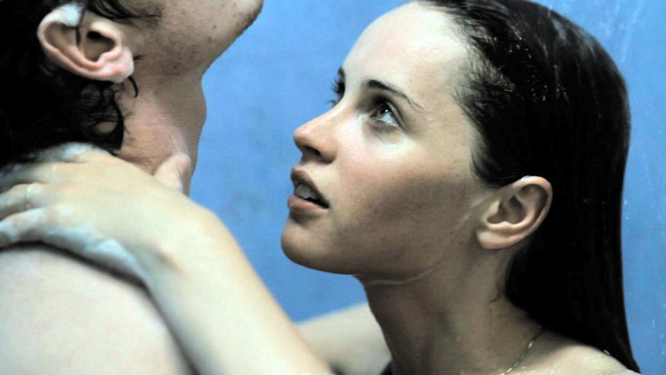 """<p>Starring Felicity Jones and Anton Yelchin, this sultry romance (which is, like, <em>crazy</em> hot) tells the story of a British exchange student who falls in love with an American student, only to be separated from him when she is denied re-entry into the US after staying past the time allowed by her student visa. </p> <p><strong>When it's available:</strong> <a href=""""http://www.netflix.com/es-en/title/70167118"""" class=""""link rapid-noclick-resp"""" rel=""""nofollow noopener"""" target=""""_blank"""" data-ylk=""""slk:Aug. 19"""">Aug. 19</a></p>"""