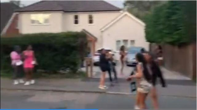 Neighbours reported seeing blood stains on the road once the partygoers had dispersed (swns)