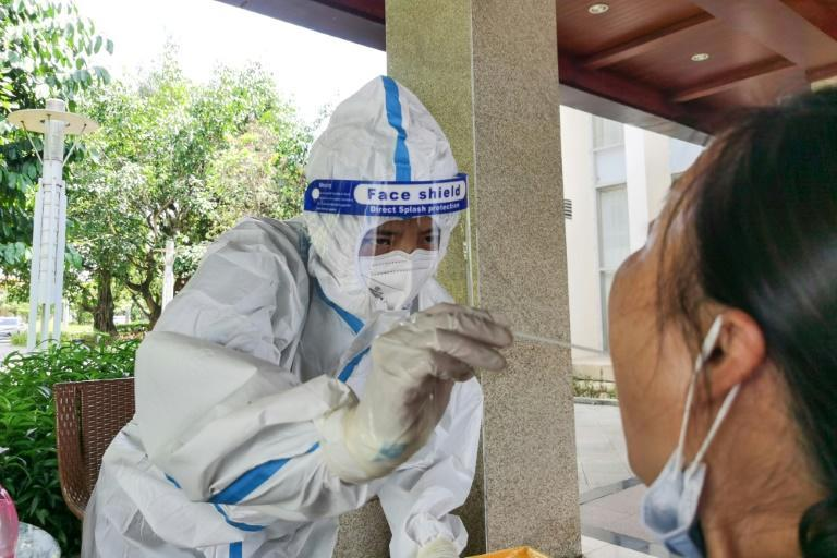 More than 155 coronavirus cases were recorded in the Chinese city of Ruili over the past week