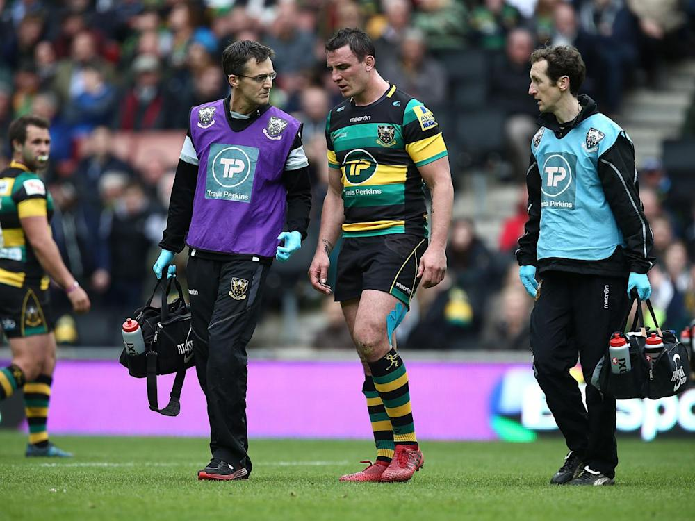 Louis Picamoles suffered injury in Northampton's defeat by Saracens (Getty)
