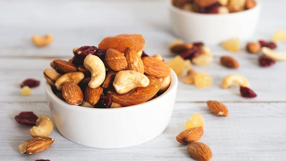 Cashews, almonds, walnuts and peanuts, all are loaded with protein.