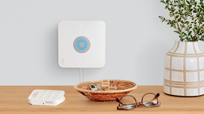 The Ring Alarm Pro Base station has a built-in eero Mesh Wi-Fi router.