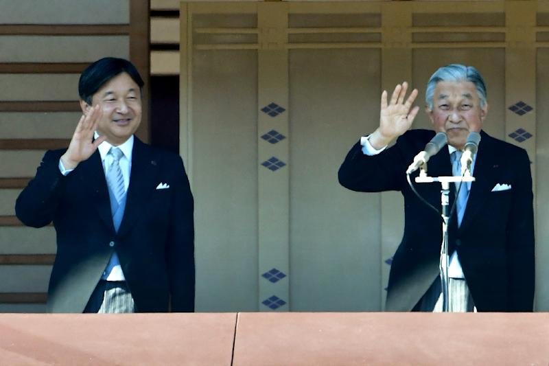 Akihito is waving goodbye to the throne, the first abdication in Japan for 200 years (AFP Photo/Kazuhiro NOGI)