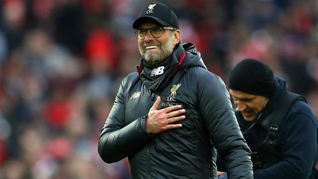 Despite being close to winning a double, Jurgen Klopp said Liverpool were embracing the pressure.