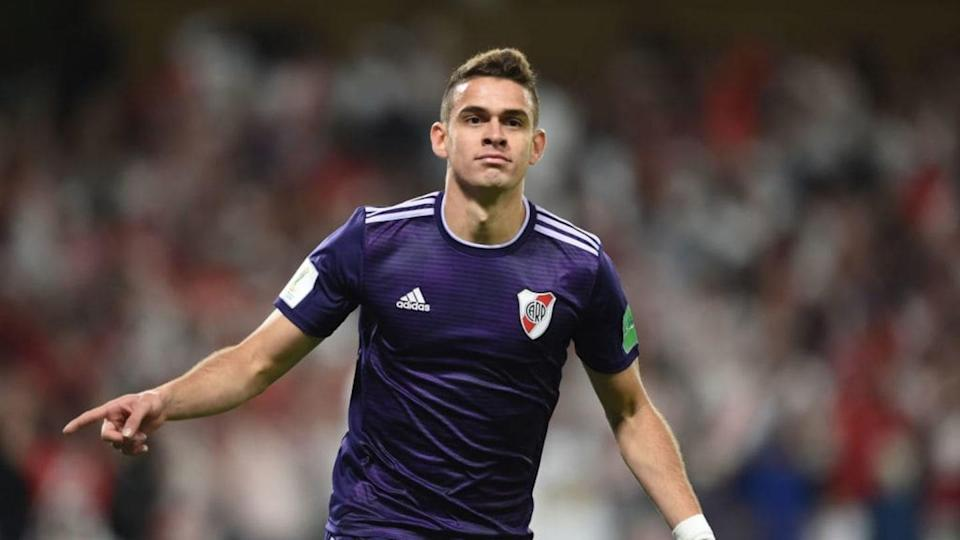 River Plate v Al Ain - FIFA Club World Cup UAE 2018 Semi Final - El siempre cumplidor Rafael Borré. | Diego Alberto Haliasz/Getty Images