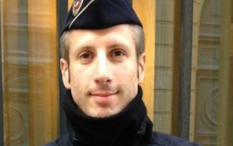 Xavier Jugele, who was killed in the Champs-Elysees attack - FLAG
