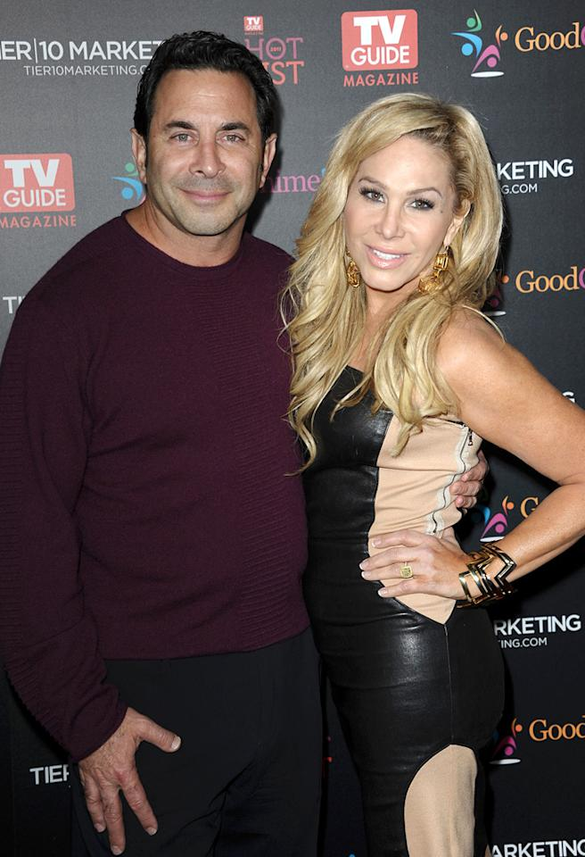 WEST HOLLYWOOD, CA - NOVEMBER 07:  Dr. Paul Nassif and Adrienne Maloof attend the 2011 TV Guide Magazine Hot List Party at Greystone Manor Supperclub on November 7, 2011 in West Hollywood, California.  (Photo by Jason LaVeris/WireImage)