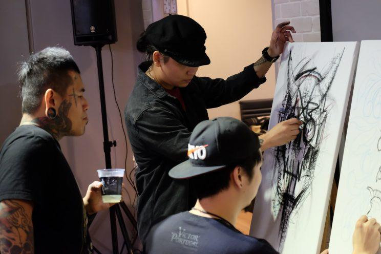 Singapore 39 s first ink show aims to eradicate stigma for Charity motors auction 8 mile