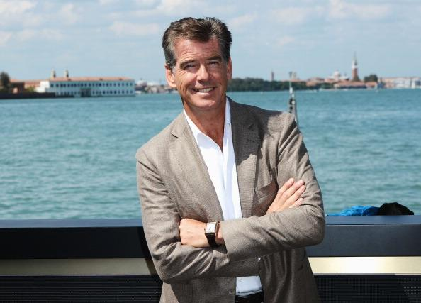 Actor Pierce Brosnan attends the Venice Movie Stars Lounge during the 69th Venice Film Festival on September 2, 2012 in Venice, Italy. (Photo by Ian Gavan/Getty Images)