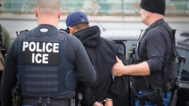 President Donald Trump's administration ramped up its crackdown on so-called sanctuary cities this week when U.S. Immigration and Customs Enforcement carried out nationwide detention raids, arresting 498 people from 42 different counties for alleged violations of federal immigration laws.