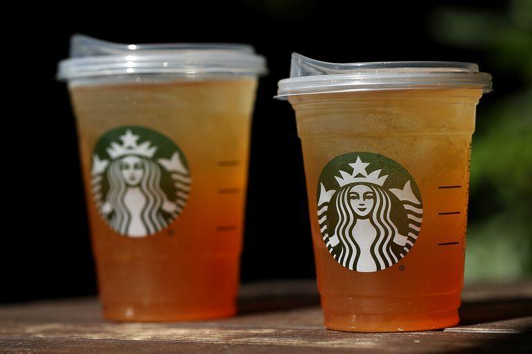 <p>When the 2018 movement to ban plastic straws swept the country, Starbucks rolled out a cup that cut the need for straws altogether. The lid is designed to be sipped from and the company plans to up-cycle old lids in an effort to eliminate single-use plastic. </p>