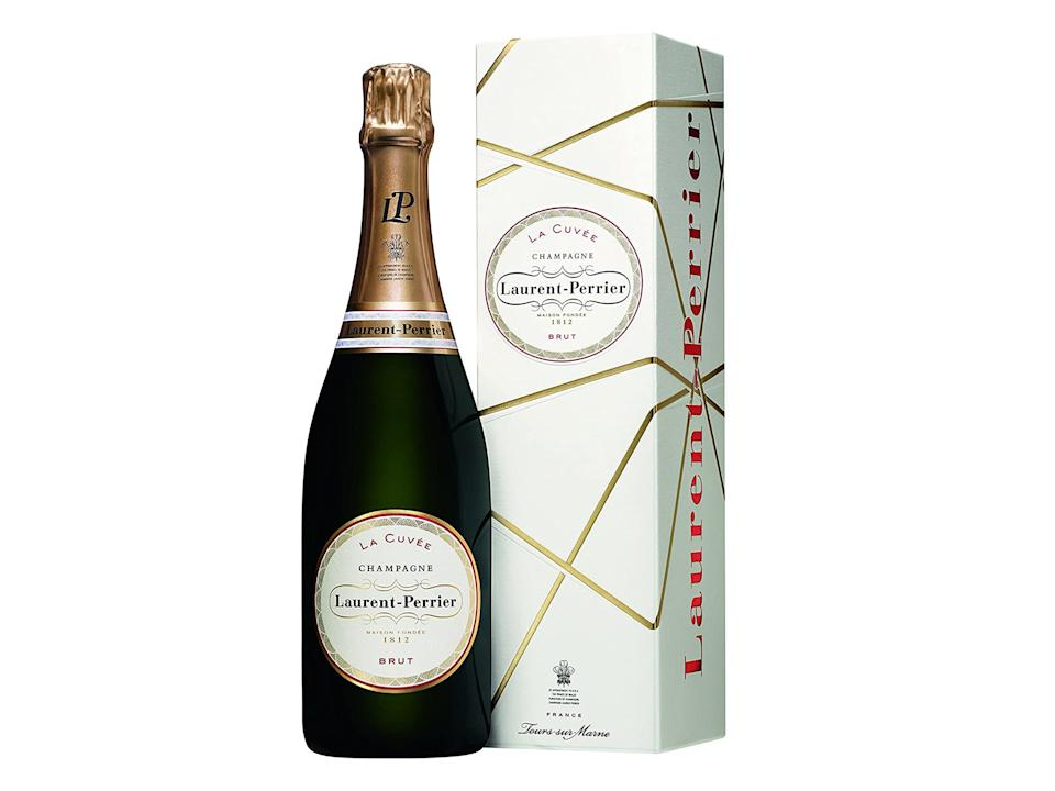 <p>You can't go wrong with a bottle of bubbly</p>Laurent Perrier