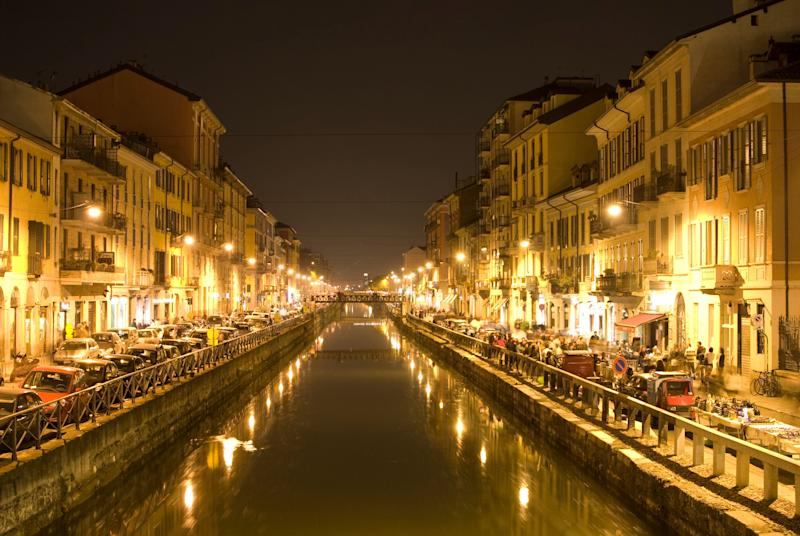 """The biggest """"Navigli"""" in Milano (Photo: weible1980 via Getty Images)"""