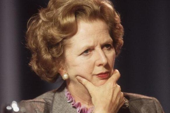 A BBC programme about Margaret Thatcher will be shown this evening: Getty Images