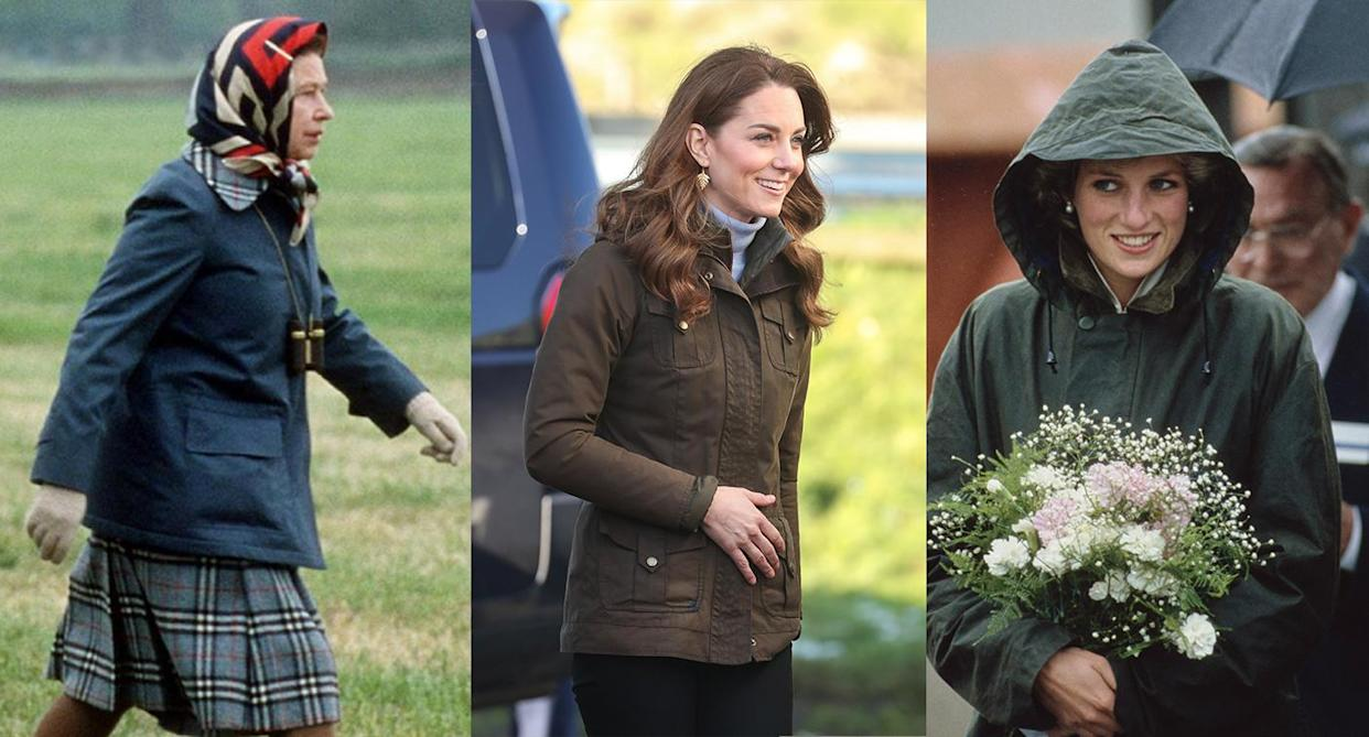 The royal-approved coat brand to invest in this autumn. (Getty Images)