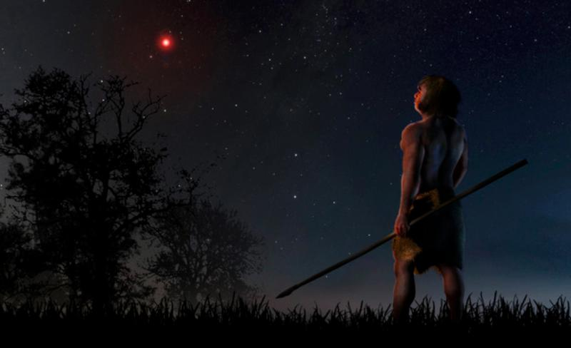 d6d9310065bda Early humans saw a rogue star pass close by our Solar System