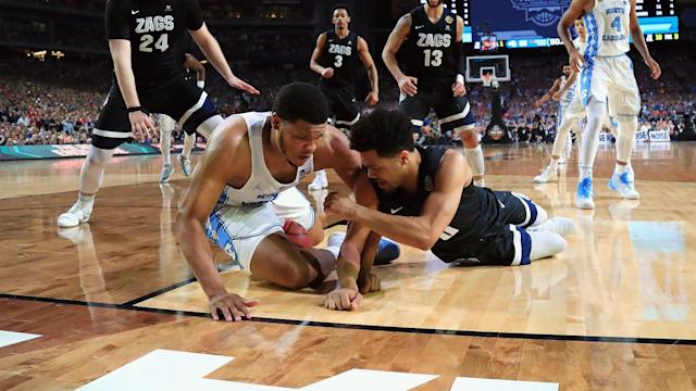 The refereeing was bad in the national title game between North Carolina and Gonzaga. And the refs appeared to have blown a critical call late in the game.