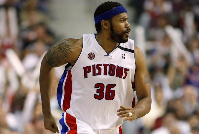 Rasheed Wallace, American philosopher. (Gregory Shamus/Getty Images)