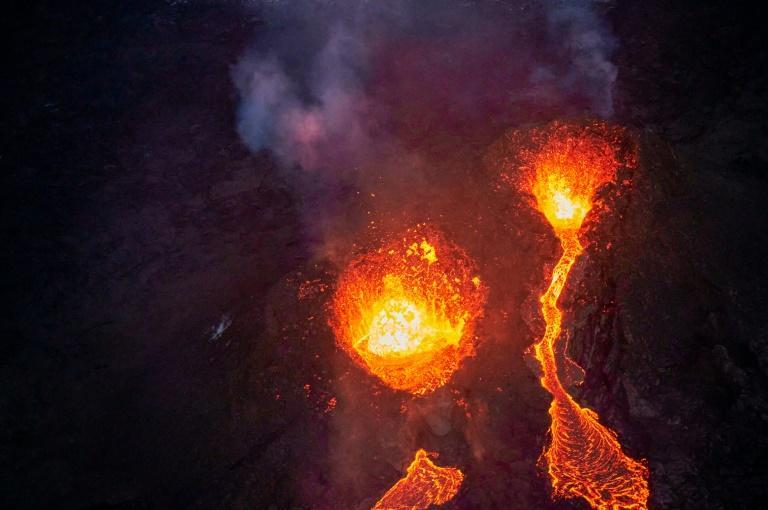 """""""It's not every day you can go to look at a volcano so close,"""" one visitor said"""