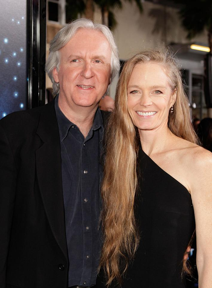 """<a href=""""http://movies.yahoo.com/movie/contributor/1800012402"""">James Cameron</a> and wife Suzy Amis at the Los Angeles premiere of <a href=""""http://movies.yahoo.com/movie/1809804784/info"""">Avatar</a> - 12/16/2009"""