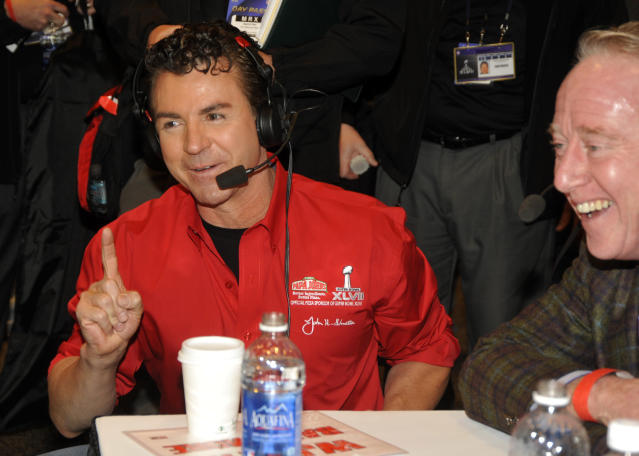 Until Louisville can figure out how to cut ties with mega-donor and naming rights holder John Schnatter, the school will risk being associated with racism. (AP)