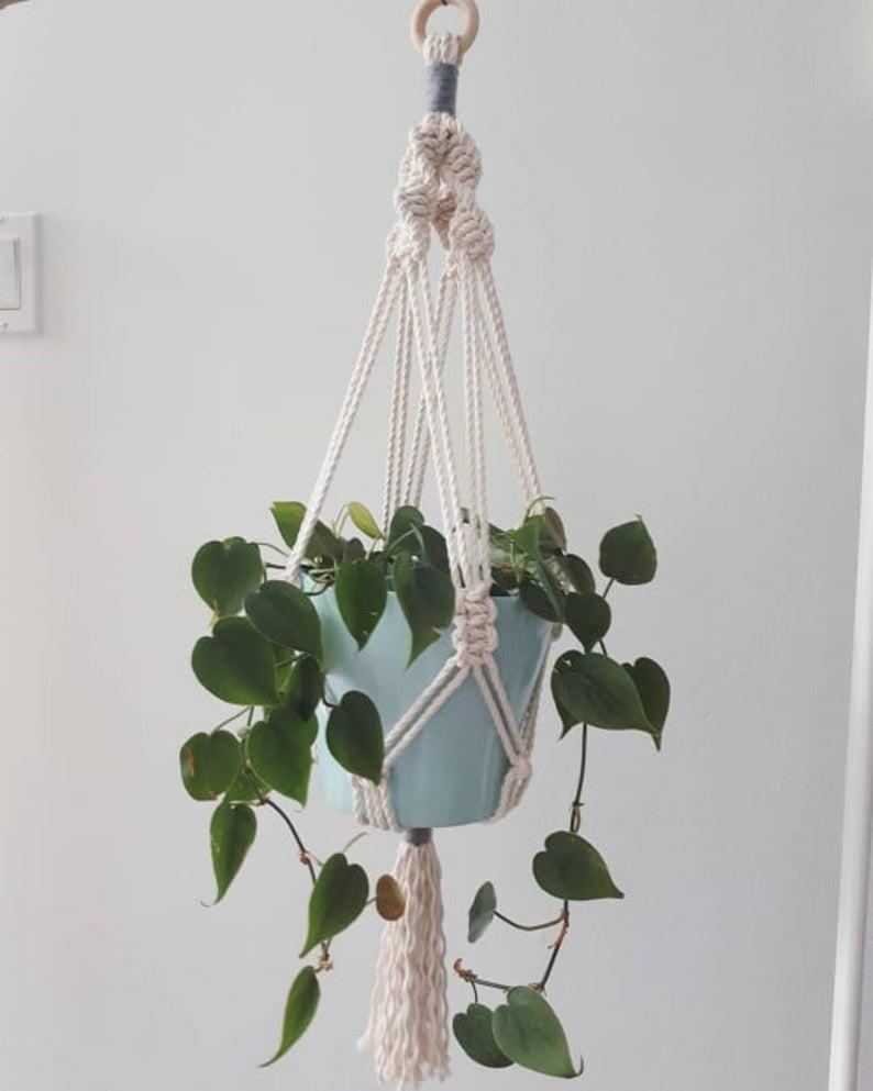 DIY Gardening Set in Macramé. Image via Etsy.