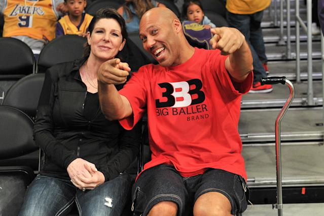 LaVar Ball's feud with Donald Trump has provided ample free exposure for the Big Baller Brand. (Getty Images)