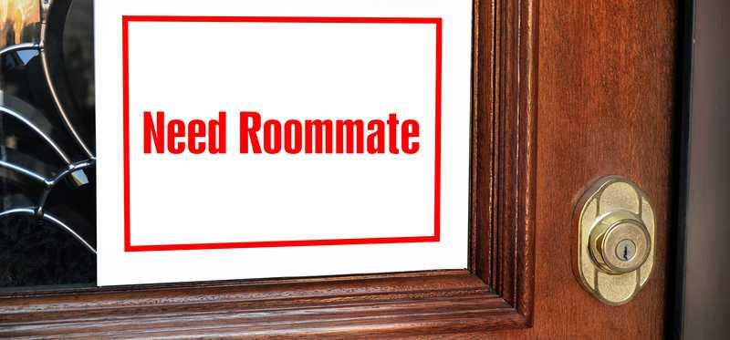 Sign in window reading Need Roommate