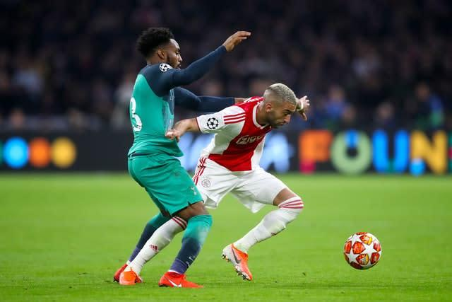 Frank Lampard was impressed with the way Hakim Ziyech performed in the Champions League last season (Adam Davy/PA)