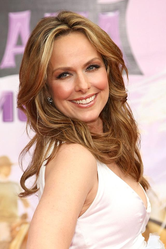 """<a href=""""http://movies.yahoo.com/movie/contributor/1800086580"""">Melora Hardin</a> at the Los Angeles premiere of <a href=""""http://movies.yahoo.com/movie/1810025272/info"""">Hannah Montana The Movie</a> - 04/02/2009"""