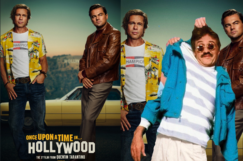 'Is This Photoshop-ed?' Tarantino Fans Are Puzzled Over 'Once Upon a Time In Hollywood' Poster