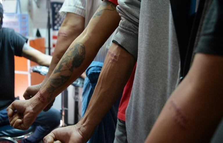 Tattoo parlour customers want a permanent reminder of resistance to dictatorship