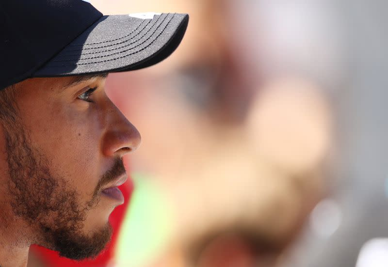 Mercedes knew Hamilton was in trouble before Russian GP start