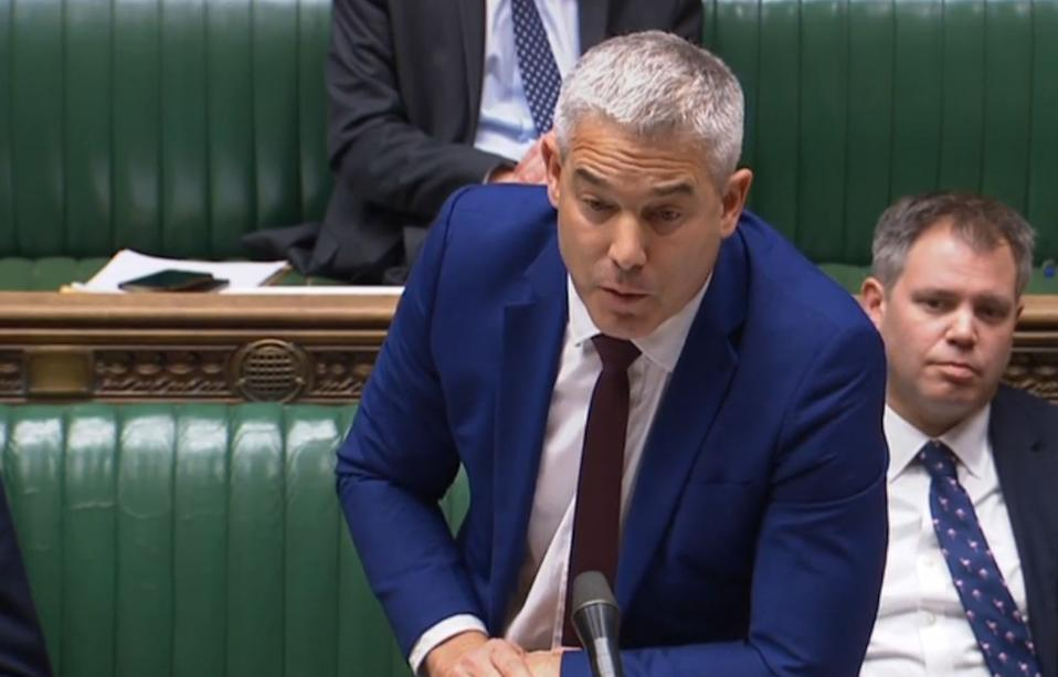 Exiting the European Union Secretary (Brexit) Stephen Barclay responds to an Urgent Question by Labour leader Jeremy Corbyn in the House of Commons, London on the European Union (Withdrawal Agreement) and extension letter.