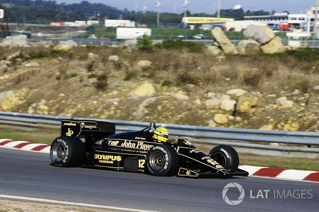 "1985 - Lotus <span class=""copyright"">Sutton Motorsport Images</span>"