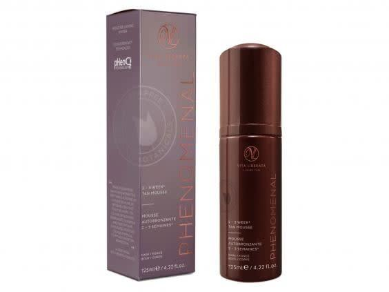 This mousse tan can be easily applied with a mitt (Boots)
