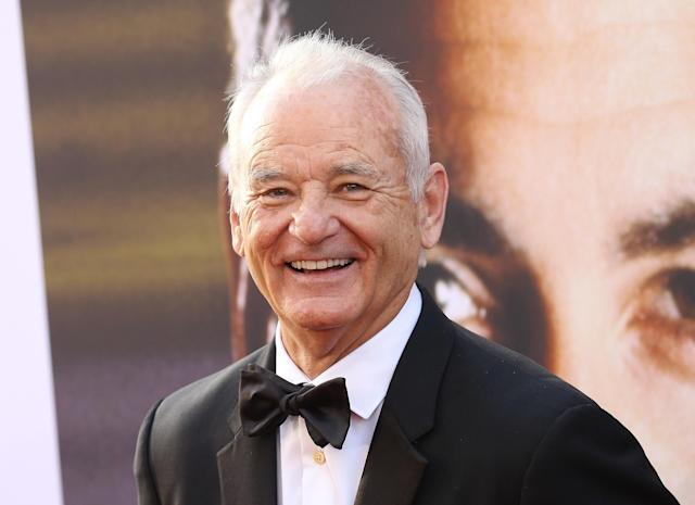 Bill Murray at the American Film Institute's 46th Life Achievement Award Gala Tribute in June. Lately Murray has been on Martha's Vineyard, where he got into a dispute with a local photographer — the brother of Carly Simon — over whether he was taking Murray's photo during a night out. (Photo: Getty Images)