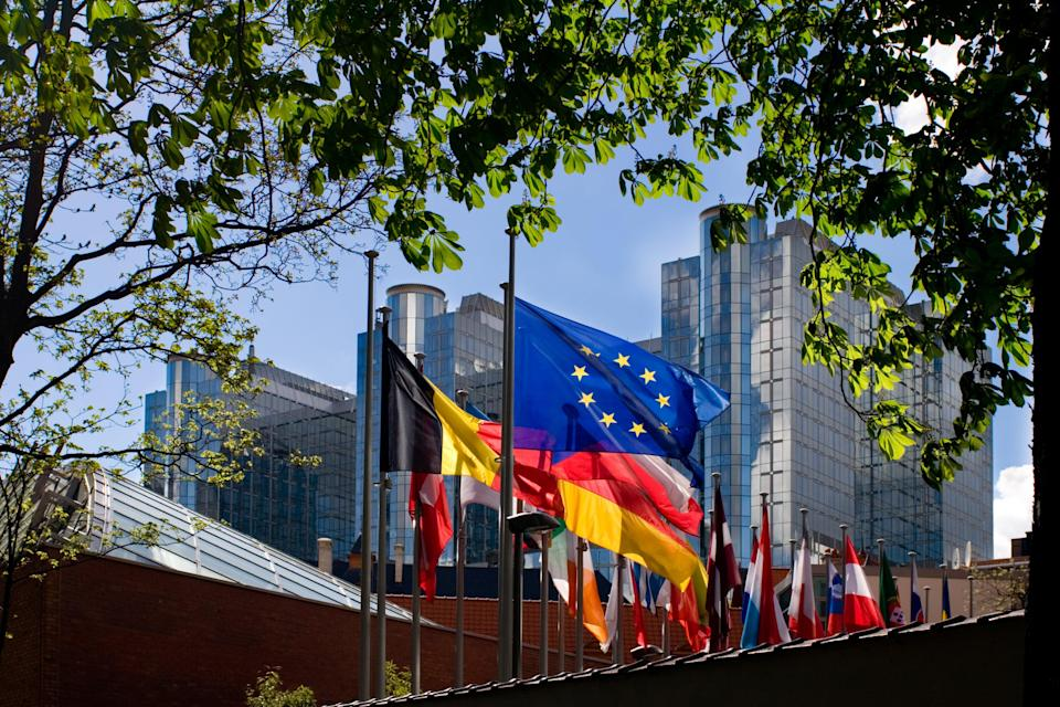 Part of the European Parliament campus in Brussels (Getty Images)